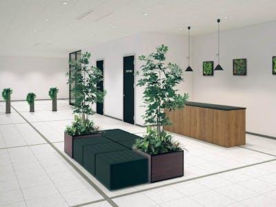 【エントランスのコーディネート例】印象に残る観葉植物でおもてなし空間を作る