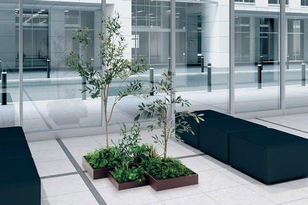 人工樹木 組み合わせプランター