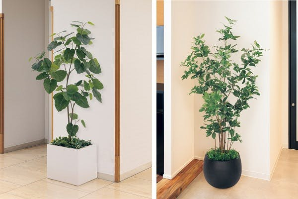 人工樹木 樹木プランター