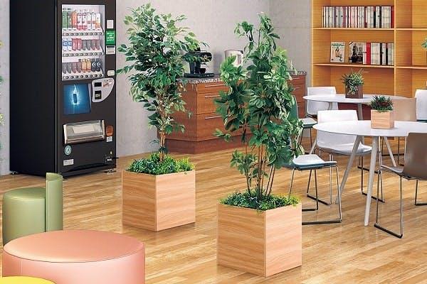 人工樹木 樹木プランター使用事例