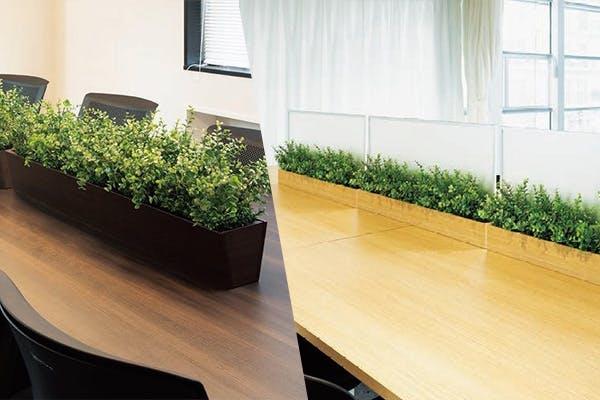 テーブル スペース 間仕切り 卓上 ポッド